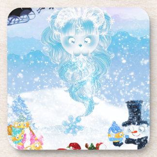 Suzy Snowflake is Coming to Town! Drink Coaster