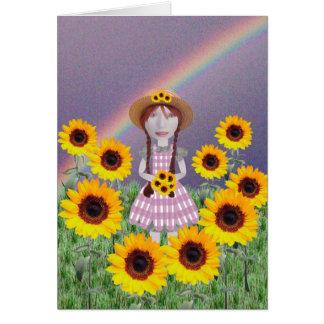 Suzy Sunflower Card