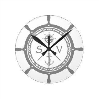 SV3 ROUND CLOCK
