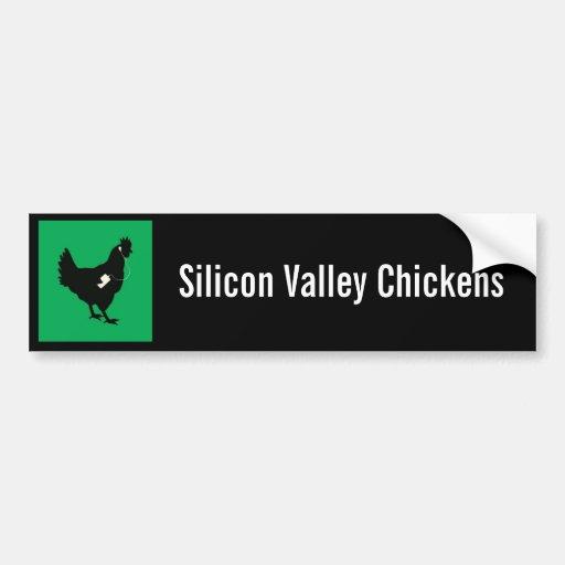SV Chickens Bumper Sticker Car Bumper Sticker