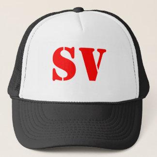 SV Trucker Hat - Black