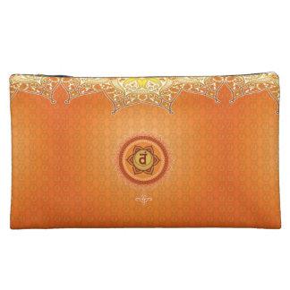 Svadhisthana 2nd (Sacral) Chakra Cosmetic Bag
