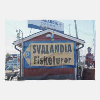 Svalandia Fiskaturer Hand Towels