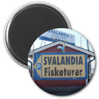 Svalandia Fiskaturer Magnet