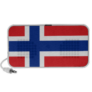 Svalbard Jan Mayen Norway Flag PC Speakers