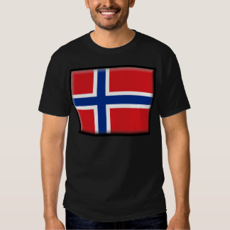 Svalbard Jan Mayen (Norway) Flag Tee Shirt