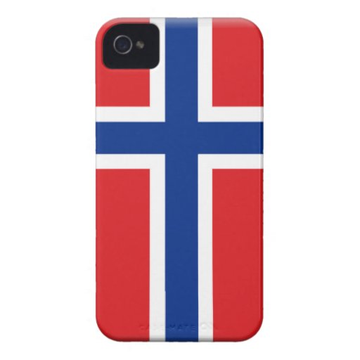 Svalbard (Norway) Flag Case-Mate iPhone 4 Case