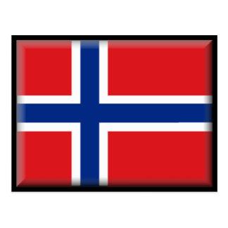 Svalbard (Norway) Flag Post Card
