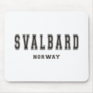 Svalbard Norway Mouse Pad