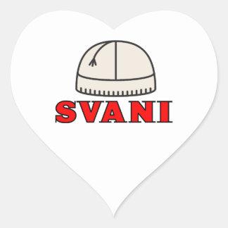 Svani Heart Stickers