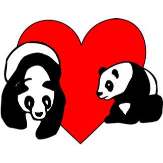 Cute Panda Love