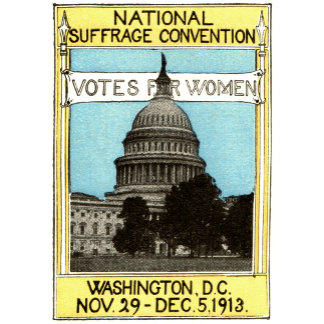 Vintage Womans Right to Vote Posters