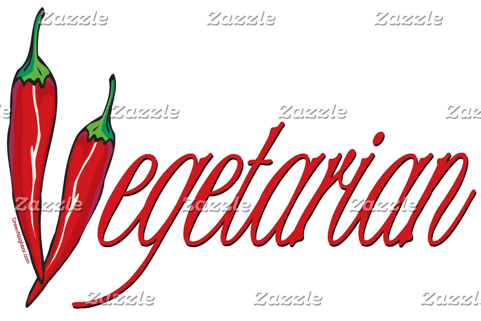 Hot Chili Pepper Vegetarian