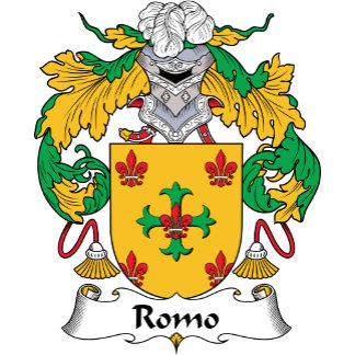 Romo Family Crest