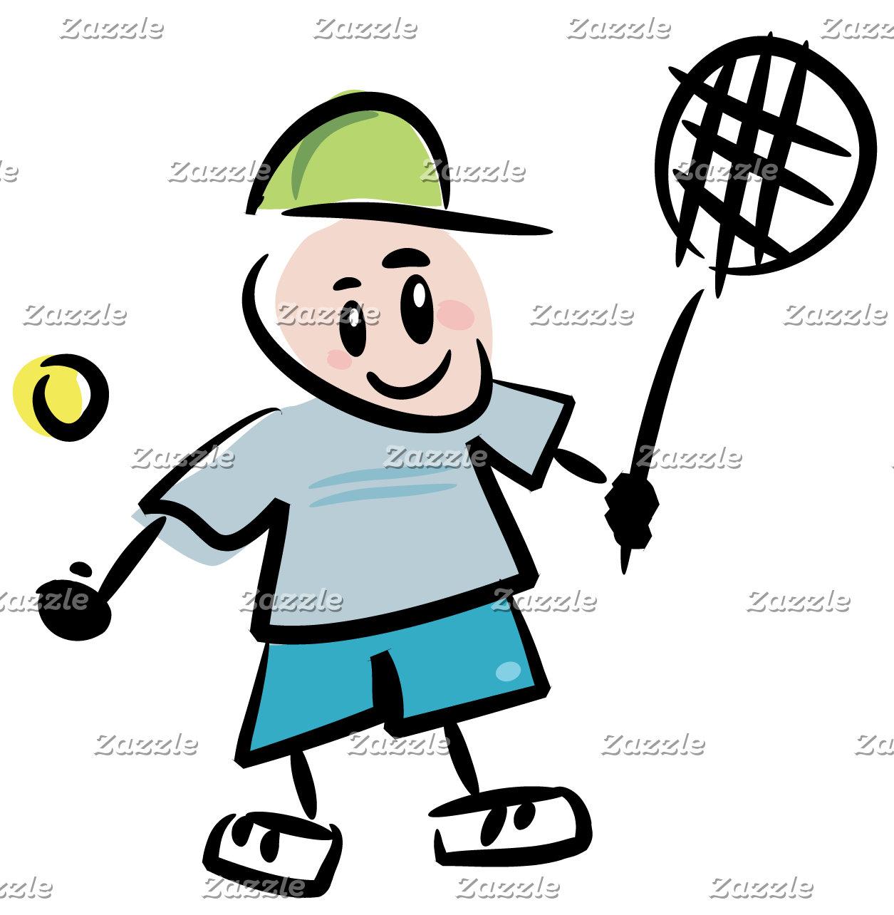 Tennis Cartoon