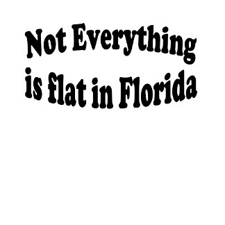 Not Everything is flat in...........