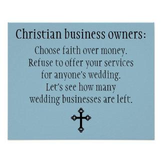 No Wedding Services for Anyone