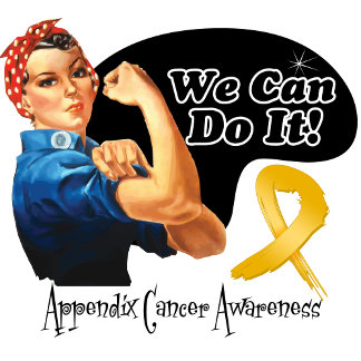 Appendix Cancer We Can Do It Rosie The Riveter