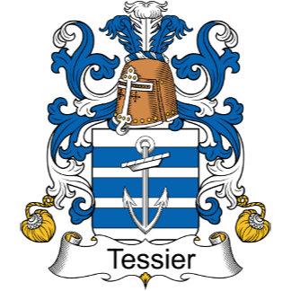 Tessier Family Crest