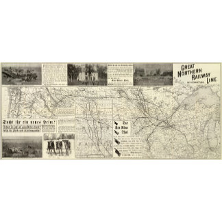 Great Northern Railroad line