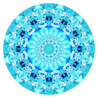 Aqua Lace Mandala