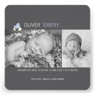 :: BIRTH ANNOUNCEMENT