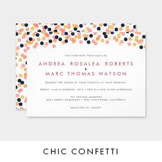 Chic Confetti Collection