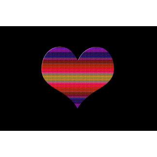 Heart Tapestry Design