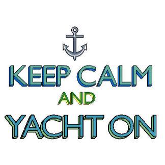Keep Calm Yacht On
