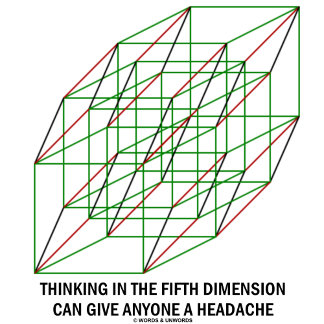 Thinking In The Fifth Dimension Can Give Headache