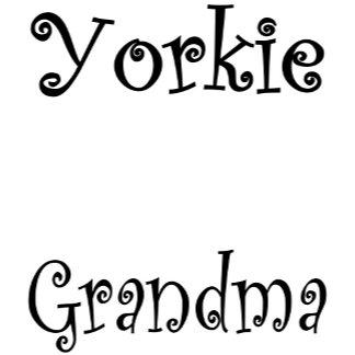Yorkie GRANDMA