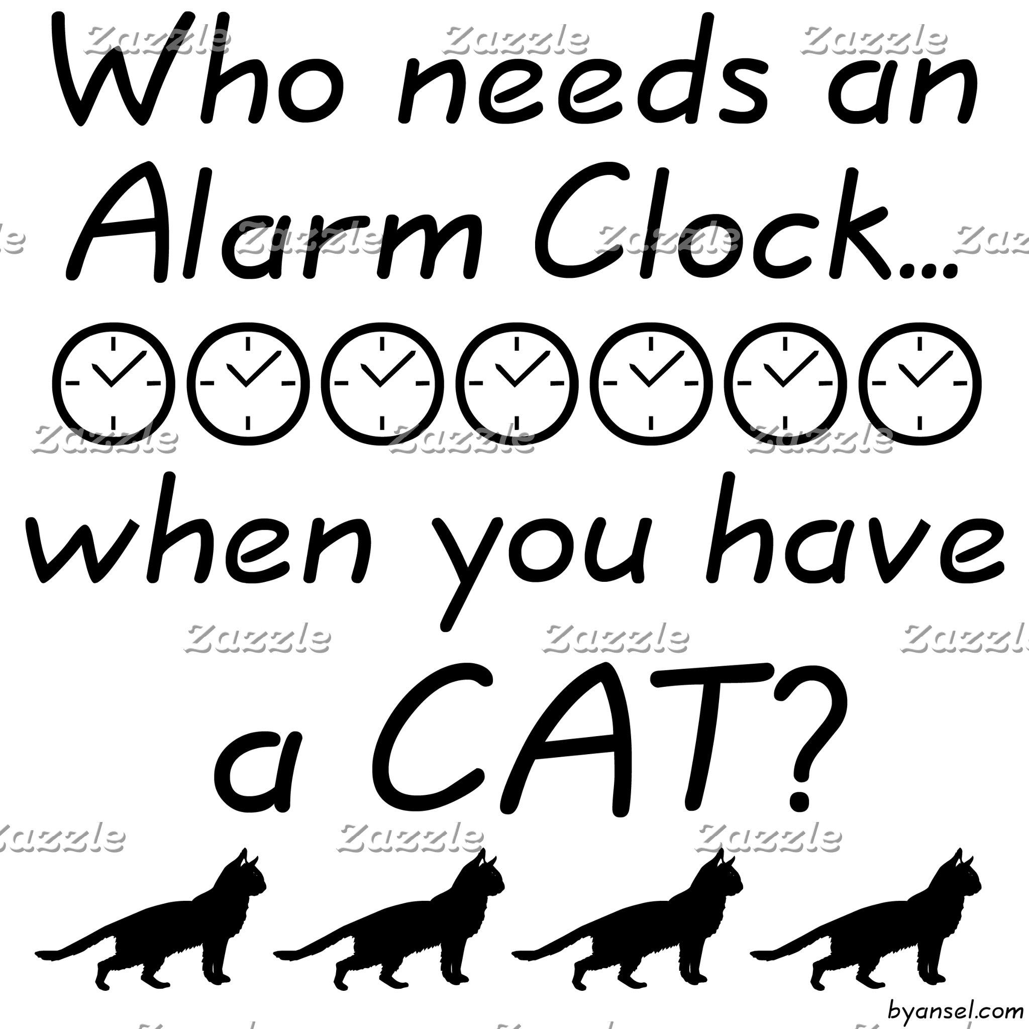 Who needs an alarm clock...