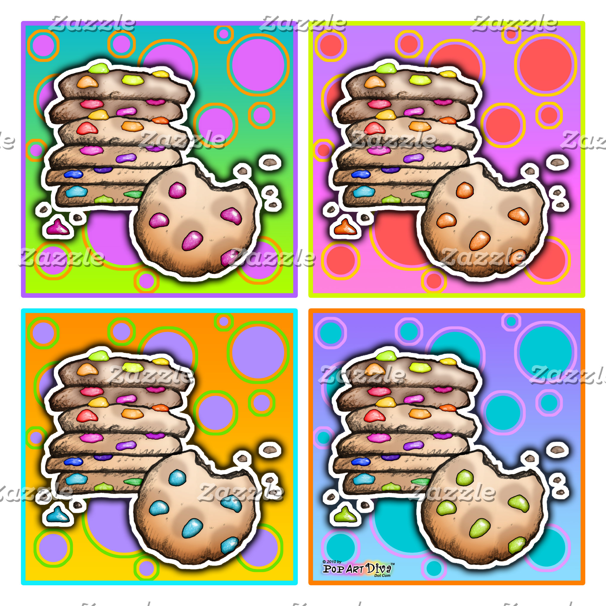z. COOKIE POP ART