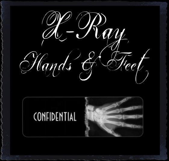 X-Ray Skeleton Hands & Feet