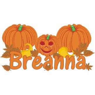 Pumpkin Breanna Personalized Halloween
