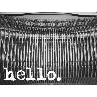 Vintage Typewriter [3 designs]