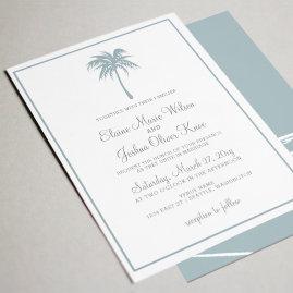Mystical Ocean Octopus Wedding Invites