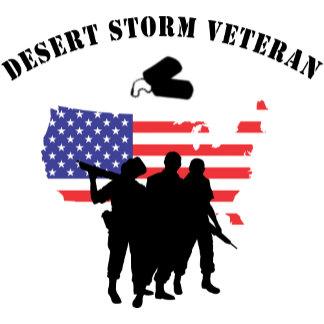 Desert Storm Veteran T-Shirt Gift Cards