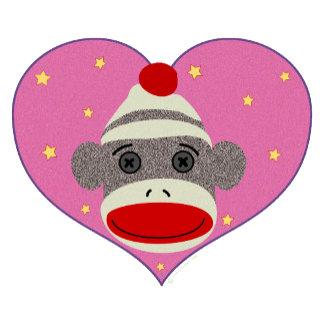 I Heart Sock Monkey