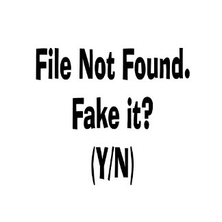 file not found black text funny computer design