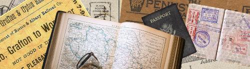 Vintage Map Adventures
