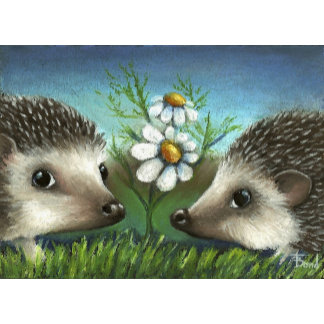 hedgehogs on a date