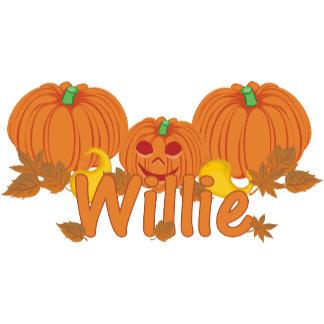 Pumpkin Willie Personalized Halloween