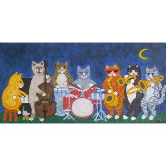 Salsa Cat Band at Night