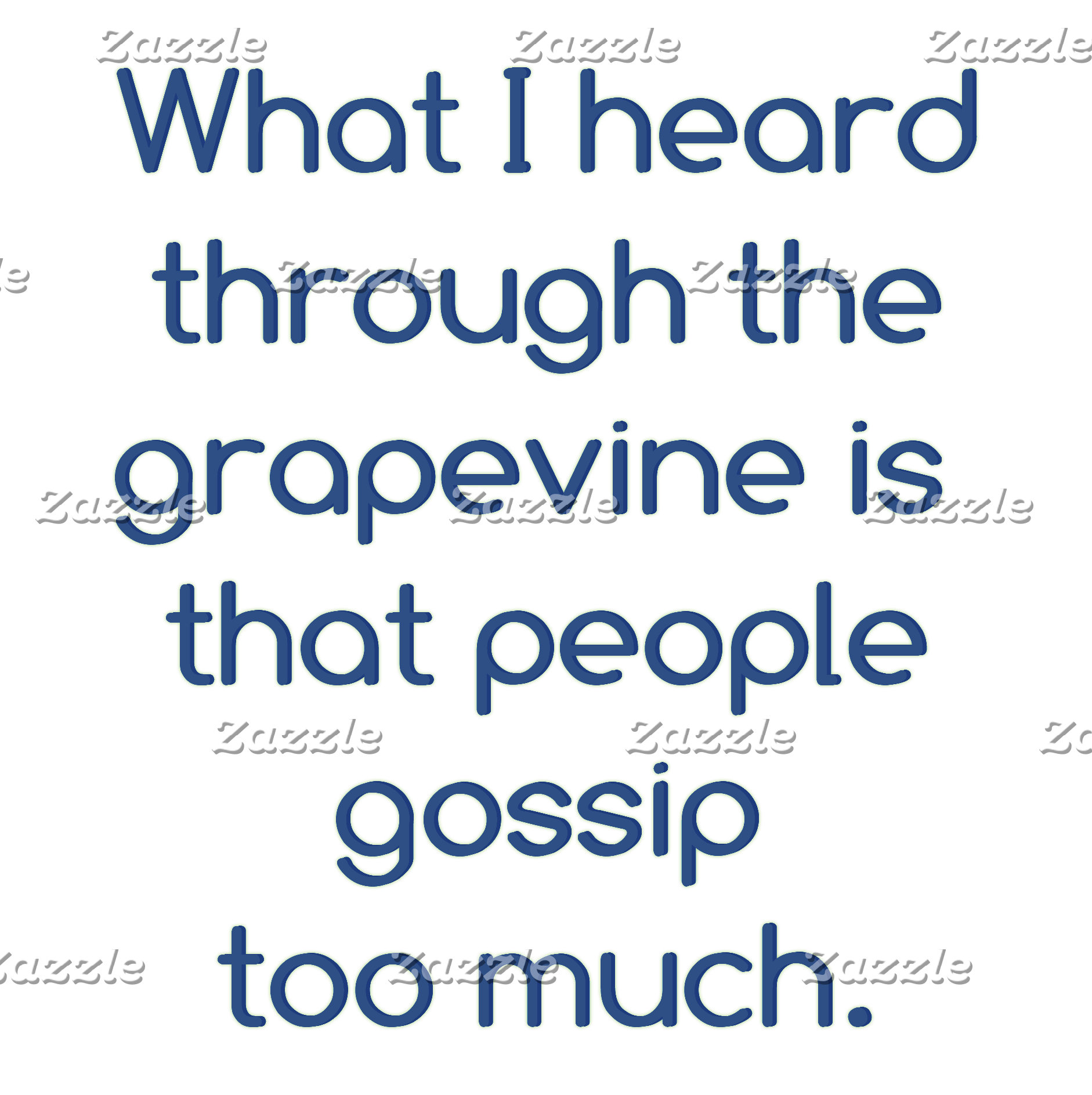 People Gossip Too Much!