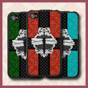 Dragonfly Damask iPhone Cases