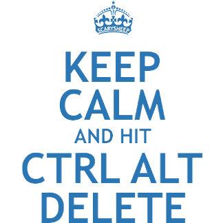 Keep Calm and Hit Ctrl Alt Delete