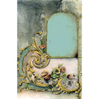 Ornate Victorian Scroll & Window
