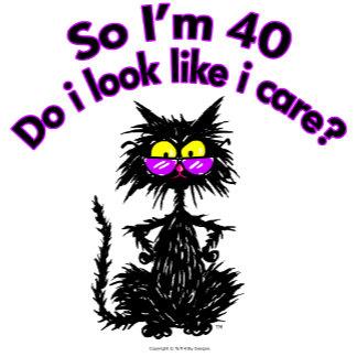 40th Birthday Cat Gifts