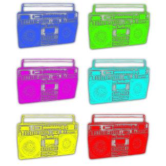 BOOMBOX multicolor radios